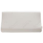 HOLA 高密度防螨抗菌記憶枕 曲線型 高10.5公分