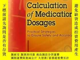 二手書博民逛書店Calculation罕見of Medication Dosag