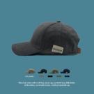 韓國貼布棒球帽子女情侶百搭夏季遮陽帽復古軟頂鴨舌帽男 黛尼時尚精品