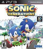 PS3 Sonic Generations 音速小子 世代 純白時空(美版代購)