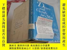 二手書博民逛書店Divorce罕見and Custody for MenY205
