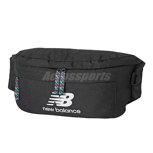 New Balance 腰包 Athletics Terrain Waist Pack 黑 白 男女款 外出 隨身小包 【ACS】 EQ03061MBK