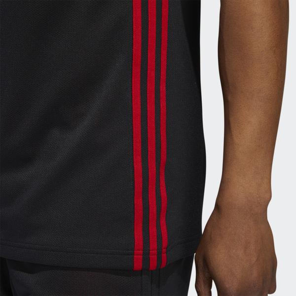 【現貨】ADIDAS 3G SPEE REV JRS 男裝 背心 球衣 籃球 透氣 排汗 雙面可穿 黑紅【運動世界】DY6588