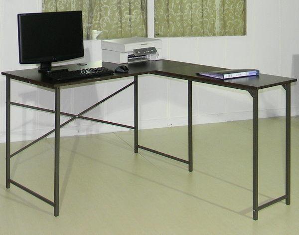 *集樂雅*【DE1240】精巧L型辦公桌 / 電腦桌 / 書桌(附線孔蓋)