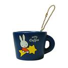 藍色款【日本進口】米飛兔 Miffy 杯子 捏捏吊飾 吊飾 捏捏樂 軟軟 SQUISHY - 612083