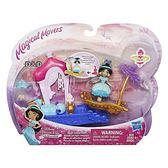 《 Disney 迪士尼 》迷你公主轉轉樂園人物與交通工具 - 茉莉公主╭★ JOYBUS玩具百貨