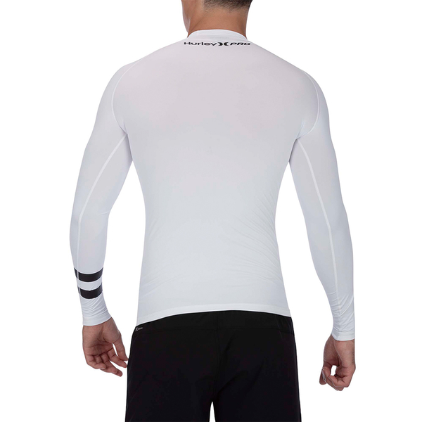 Hurley  M PRO LIGHT TOP LS WOLF GREY  防磨衣長袖-(男)