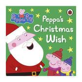 Peppa Pig:Peppa's Christmas Wish 佩佩豬的聖誕願望 精裝硬頁書