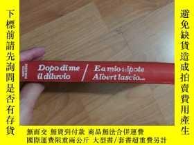 二手書博民逛書店意大利語原版精裝David罕見Forrest DOPO DI M