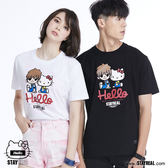 STAYREAL x HELLO KITTY 橫刀奪愛凱蒂T