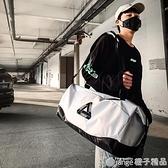 旅行包大容量男超大手提運動健身包輕便攜帆布收納袋網紅行李背包『橙子精品』