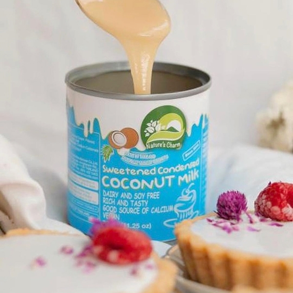 Natures Charm 純素椰子煉乳(不含乳)320g_ 愛家嚴選純素椰奶製品 素食甜點DIY Vegan 煉椰漿