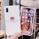 iPhone 6 6s Plus 插卡錢包 手機殼 全包硅膠軟殼 斜跨背包 保護殼 防摔保護套 手拿包 手機套 iPhone6