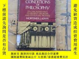 二手書博民逛書店the罕見conditions of philosophyY25