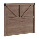 【森可家居】哈珀3.5尺床頭片(不含床底)  單人 8CM670-5  浮雕壓木紋