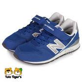 New Balance 996 藍色 魔鬼氈 運動鞋 中大童 NO.R2996