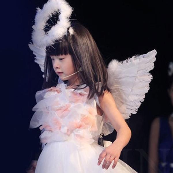 天使 天使光圈 光環 翅膀 髮箍 髮飾 萬聖節/派對/服裝/角色扮演/變裝/搞笑裝扮【塔克】