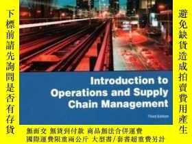 二手書博民逛書店Introduction罕見To Operations And Supply Chain Management.-
