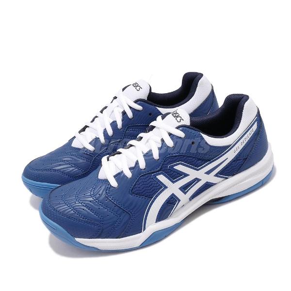 Asics 網球鞋 Gel-Dedicate 6 藍 白 男鞋 運動鞋 舒適緩震 輕量 【ACS】 1041A074402