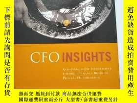 二手書博民逛書店CFO罕見Insights: Achieving High Pe