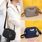 尼龍包時尚小包包2021年新款夏帆布包百搭媽媽包斜背包女包尼龍布側背包 JUST M