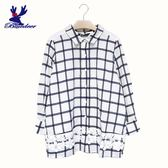 American Bluedeer-格紋蕾絲襯衫(魅力價) 春夏新款