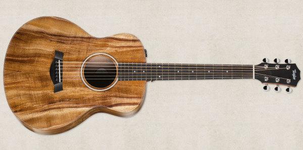 Taylor GS Mini-e KOA FLTD 限量KOA全夏威夷相思木可插電民謠吉他 附原廠袋36吋小吉他 GS Mini koa eq