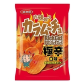 卡辣姆久厚切洋芋片-極辛口味70g【愛買】