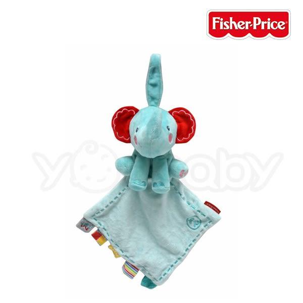 費雪 Fisher-Price 小象安撫巾 (布質抓握玩具)