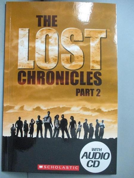 【書寶二手書T1/原文小說_GPH】Scholastic ELT Readers Level 3: The Lost Chronicles Part 2 with CD_Scholastic/編