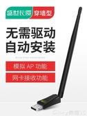 WIFI接收器免驅USB無線網卡臺式機千兆筆記本家用電腦360wifi接收器迷你無限 特惠上市