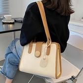 側背包 大容量包包女夏2021新款潮時尚側背包百搭夏季網紅小眾設計托特包 嬡孕哺 免運