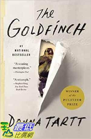 [104美國直購] 2015 美國暢銷書排行榜 The Goldfinch: A Novel (Pulitzer Prize for Fiction)