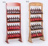 红酒架 紅酒架實木展示架酒具酒櫃貨架創意歐式擺件落地家用定制木架倒掛   星河光年DF