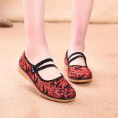 夏季老北京布鞋女網鞋輕便軟底媽媽鞋防滑透氣中老年人休閑奶奶鞋 『居享優品』