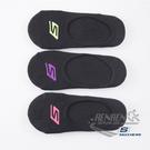 SKECHERS 女運動襪 (黑 3雙入) 隱形襪 運動踝襪 S101585-001【 胖媛的店 】