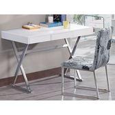 書桌 電腦桌 SB-385-1 喬伊斯4尺三抽白色鋼烤書桌 【大眾家居舘】