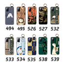 三星 S20 Ultra S20+ FE 手機殼 保護殼 腕帶支架防摔 全包邊外殼 手機套 卡通保護套 浮雕軟殼