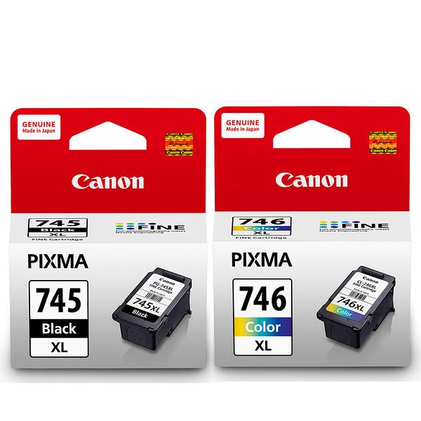 CANON PG-745XL+CL-746XL 原廠高容量墨水組合 (1黑1彩)