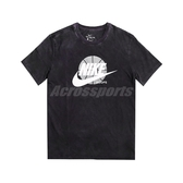 Nike 短袖T恤 Futura Washed Tee 黑 白 男款 短T 水洗 運動休閒 Hoops【ACS】 CD1297-010