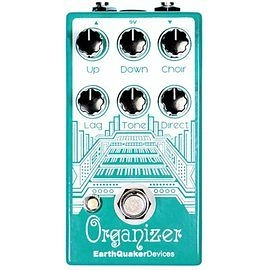 美國 Earthquaker Device Organizer Polyphonic Harmonizer Organ模擬 效果器 總代理公司貨 保固一年