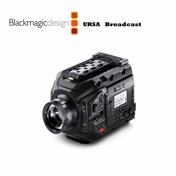 黑熊館 Blackmagic 黑魔法 URSA Broadcast 廣播級攝影機