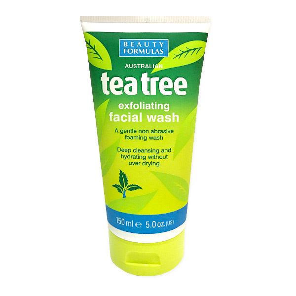 英國製 Beauty Formulas 茶樹款 去角質洗面乳 150ml