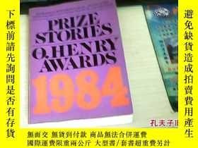 二手書博民逛書店Prize罕見Stories 1984 The O. Henry
