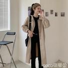 薄款風衣 2020新款秋季氣質英倫風衣女中長款薄款收腰外套小個子港風大衣潮 coco