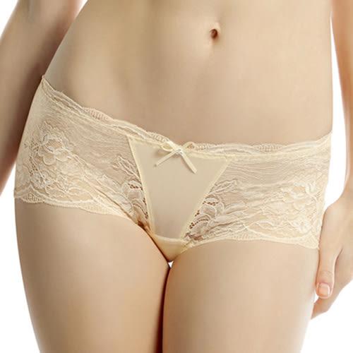 LADY 蜜爾娜系列 中低腰平口褲(晶透膚)