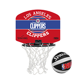 SPALDING 18 小籃板-快艇 CLIPPERS(親子 籃框 NBA 斯伯丁 免運 ≡排汗專家≡