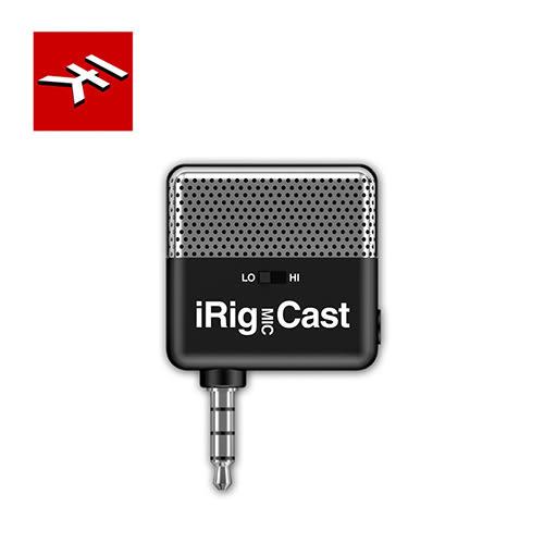 【敦煌樂器】IK Multimedia iRig Mic Cast 超小型錄音麥克風