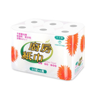 【百吉牌】廚房紙巾(60張x6捲x8串/箱)