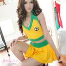 足球衣 足球服 啦啦隊長巴西黃綠色足球隊...